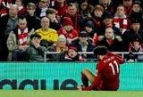 """Rungtynėse su """"Crystal Palace"""" """"Liverpool"""" versis be dviejų lyderių"""