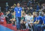 """M.Andriuška: """"Vienerias rungtynes paskyrėme eksperimentams"""""""