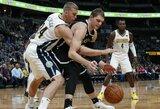 NBA įvyko trišaliai komandų mainai