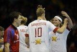 Danai ir prancūzai tęsia pergalingą pasirodymą pasaulio vyrų rankinio čempionate
