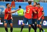 Europos čempionato atrankoje – Italijos ir Ispanijos rinktinių pergalės