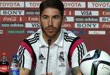 """Britų spauda: S.Ramosas gali persikelti į """"Manchester United"""""""