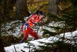 Norvegijos biatlono čempionate geriausiai tarp lietuvių pasirodė D.Rasimovičiūtė ir K.Dombrovskis