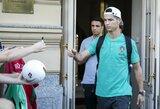 Pamatykite: Portugalijos rinktinės sudėtis rungtynėse su Lietuva - su ar be C.Ronaldo?