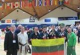 Lietuviai Europos JKA karatė čempionate iškovojo sidabro medalius