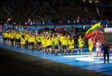 Europos žaidynių atidaryme – lietuviški akcentai