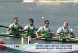 Lietuvos keturvietininkai baidarininkai pasaulio čempionate užėmė devintą vietą