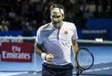 Gimtinėje triumfavęs R.Federeris iškovojo 99-ą karjeros titulą