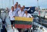 """Pasaulio vicečempionų titulas – Lietuvos """"Cool Water"""" įgulai"""
