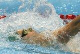Lietuvos plaukimo čempionate – užsitęsusi kova dėl olimpinių kelialapių