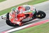Pirmosiose Aragono motociklų GP treniruotėse greičiausias buvo N.Haydenas