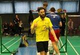 Geriausias Lietuvos badmintono žaidėjas K.Navickas baigia karjerą