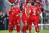 """R.Lewandowskio dublis paženklintas triuškinama """"Bayern"""" pergale"""