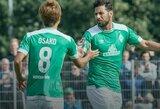 """""""Werder"""" užtikrintai susitvarkė su """"Dusseldorf"""" futbolininkais"""