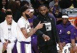 """""""Lakers"""" be L.Jameso sutriuškinta 24 taškais"""