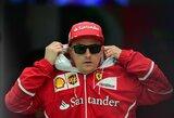 """Ferrari"" kviečiasi K.Raikkoneną ""ant kilimėlio"""