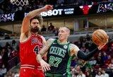 """56 taškų persvara laimėjusi """"Celtics"""" perrašė istoriją"""
