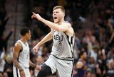 NBA įvyko trišaliai mainai: komandą pakeitė D.Bertanis, perleistos teises į A.White'ą