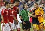 Fantastiškas Niujorko komandos įvartis leido įveikti Portugalijos čempionus