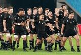 """""""All Blacks"""" ir Anglija įspūdingai žengė į pasaulio regbio čempionato pusfinalį"""