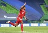 """S.Gnabry pripažino, kad """"Bayern"""" pasisekė, jog """"Lyon"""" rungtynių pradžioje neišnaudojo progų"""