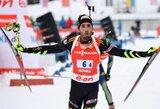 Pasaulio biatlono taurės etapas Italijoje baigėsi Prancūzijos komandos triumfu
