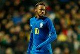 """Brazilijos rinktinės strategas Tite: """"Žiniasklaida dažniau kalba apie Neymarą nei mes"""""""