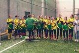 Lietuvos moterų regbio-7 rinktinė Latvijoje iškovojo bronzos medalius
