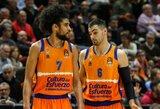 """""""Valencia"""" nesugebėjo įveikti """"Maccabi"""" ir dar labiau įsitvirtinti septintoje vietoje"""