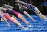 Europos jaunimo plaukimo čempionatas lietuviams baigėsi