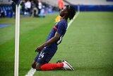 Jaunasis E.Camavinga tapo Prancūzijos futbolo istorijos dalimi