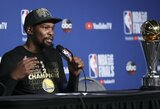 """K.Durantas: """"Lengva būti geriausiu žaidėju komandoje, kai tavęs nesupa geri krepšininkai"""""""