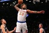 NBA dienos epizodų viršūnėje – puikus D.Williamso dėjimas