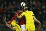 """""""Manchester United"""" pergalės Rusijoje nesugebėjo iškovoti"""