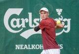 T.Vaišė po daugiau nei metų pertraukos pasirodė ITF turnyre