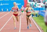 Sprinterė A.Andriukaitytė dėl traumos nebaigė Europos jaunimo čempionato finalo