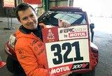 A.Juknevičius pirmasis iš 525-ių Dakaro dalyvių sutvarkė formalumus Le Havre