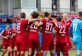 """""""Panevėžys"""" iškovojo LFF Pirmos lygos titulą ir pateko į A lygą"""