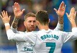 S.Ramosui į tualetą prireikė pačiu netinkamiausiu metu, Z.Zidane'as nevyniojo žodžių į vatą