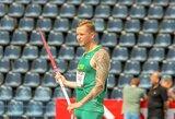 Šalia olimpinės vilties – kylantis paralimpinis talentas