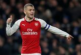 """J.Wilshere'as: """"A.Wengeras man patarė ieškoti kitos komandos, bet aš norėjau likti """"Arsenal"""""""