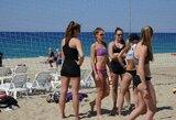 Lietuvos paplūdimio tinklininkės stovyklą Turkijoje nutraukė nemaloni operacija