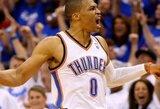 """""""Thunder"""" atstatė pusiausvyrą Vakarų konferencijos pusfinalio serijoje"""
