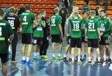 Ištraukti Lietuvos rankinio federacijos vyrų ir jaunimo taurės burtai