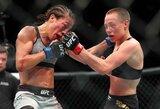 """""""UFC 223"""" kovotojų algos: R.Namajunas uždirbo daugiausiai per karjerą, C.Nurmagomedovas gavo daugiau nei pusę milijono"""
