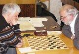 Pasaulio šimtalangių šaškių čempionato A finale lietuvis nenusileido lyderiui