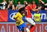 Brazilijos kapitonu pirmosiose rungtynėse taps Marcelo