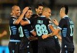 """""""Napoli"""" įveikė autsaiderį ir atidėjo """"Juventus"""" triumfą"""