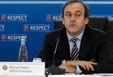 LFF taurės finalą stebės UEFA prezidentas