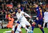 """""""Real"""" kapitonas S.Ramosas pagerino """"El Clasico"""" rekordą"""